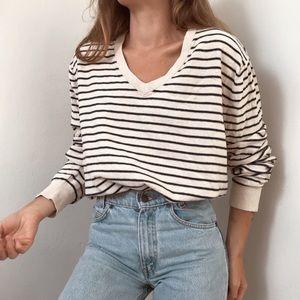 Merona slouchy boyfriend V-neck sweater